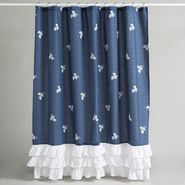 Country Living Porcelain Blossom Fabric Shower at Sears.com
