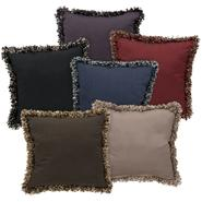 Cannon Sasha Solid Fringed Pillow at Kmart.com