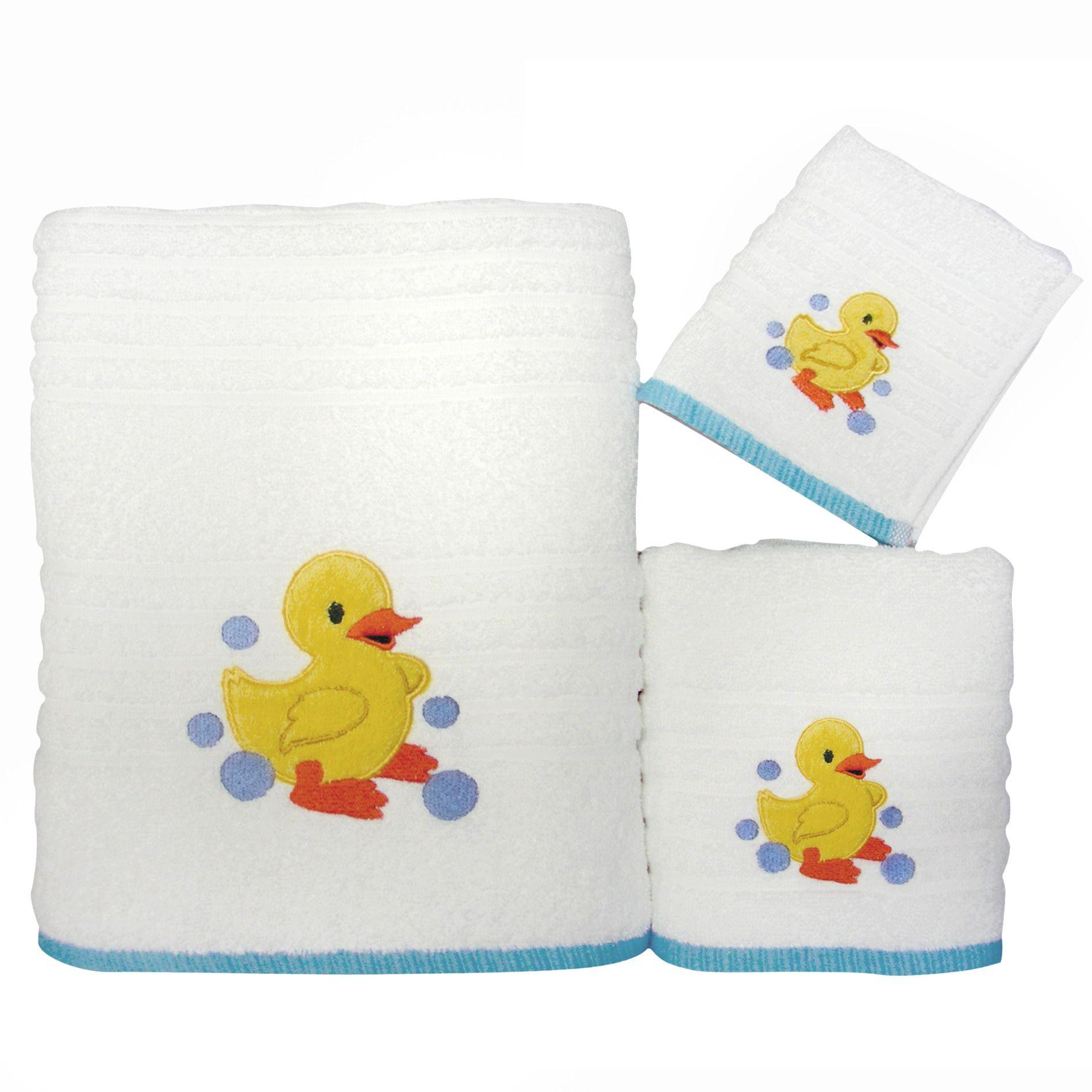 Colormate Rubber Duck Bath Towel