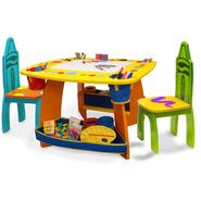 Crayola Wooden Table & Chairs Set at Kmart.com