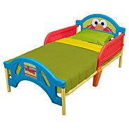 Delta Childrens Sesame Plastic Toddler Bed at Kmart.com