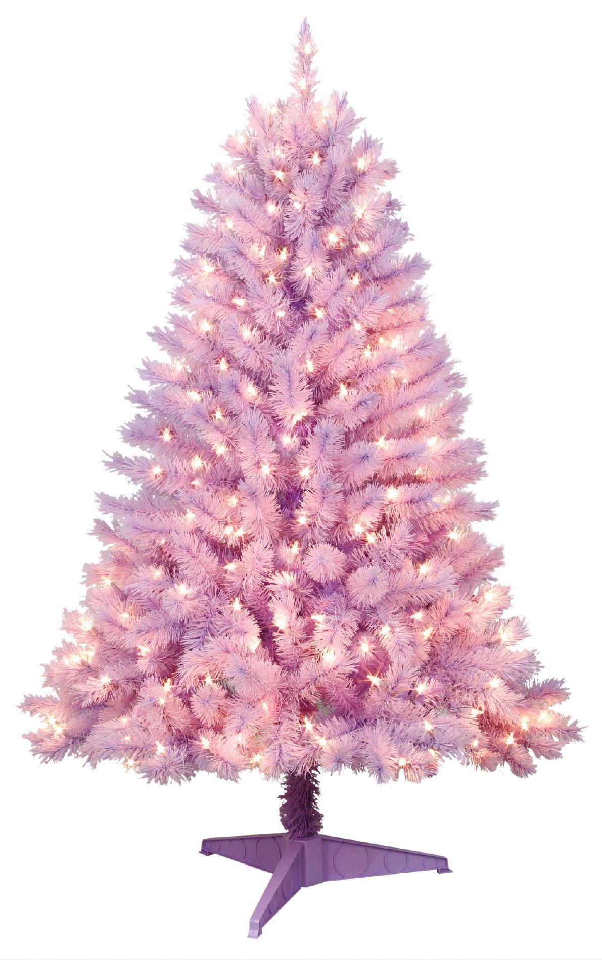 Trim A Home 174 4 5ft Purple Hamilton Spruce Christmas Tree