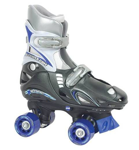Chicago Skates  Boys Adjustable Quad -