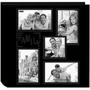 Pioneer Black 11 x 12 Collage Frame Sewn Embossed Photo Album at Kmart.com