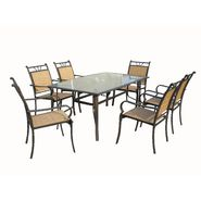 7PC SLING DINING SET