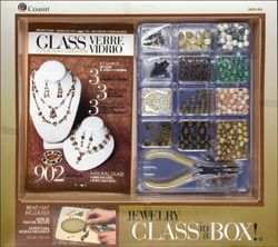 Cousin Jewelry Basics Naturals Glass Class In A Box Kit