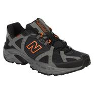 New Balance Mens 481Trail Running Athletic Shoe Wide Width - Grey/Orange at Sears.com