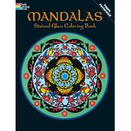 Dover Mandalas Stained Glass Coloring  Book at Kmart.com