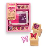 Melissa & Doug Butterfly and Hearts Stamp Set at Sears.com