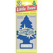 Car Freshner Little Trees Air Freshener 3 pack New Car at Sears.com