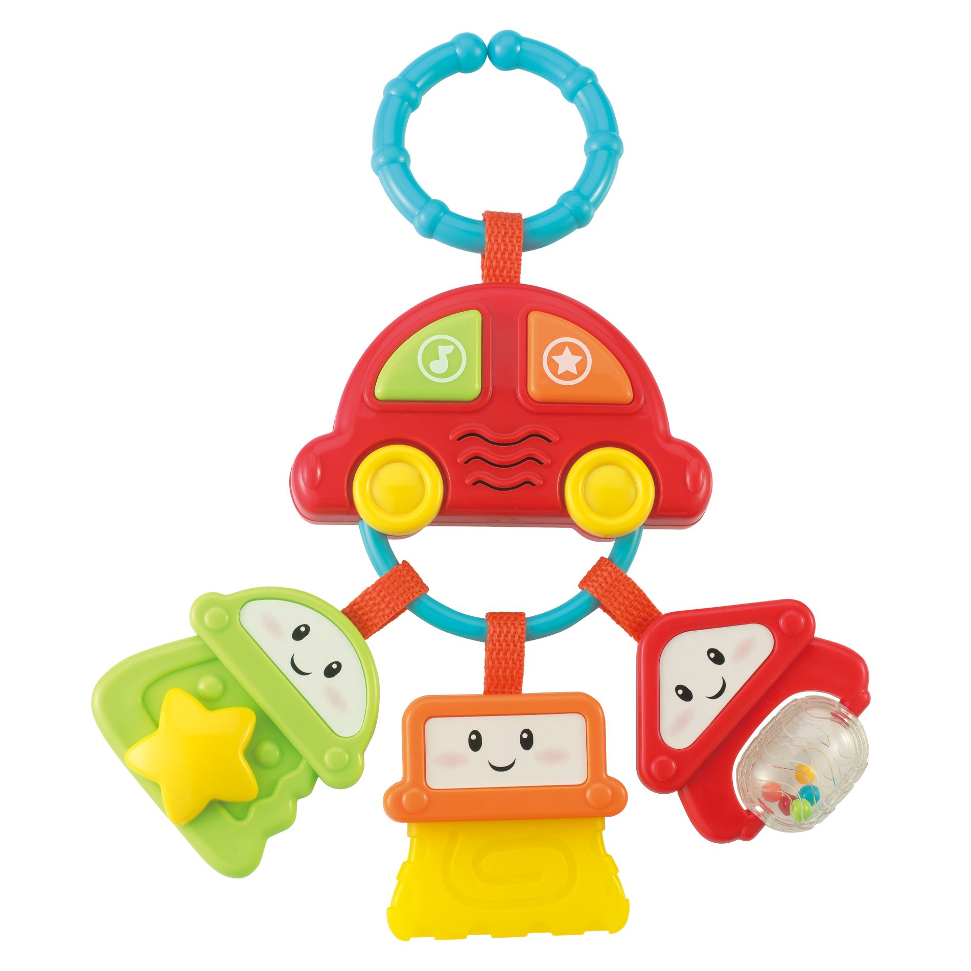 Just Kidz Sounds 'n Rattle Keys