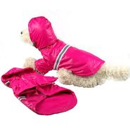 Pet Life Reflecta-Sport Rainbreaker With Removable Hood Small Pink at Kmart.com