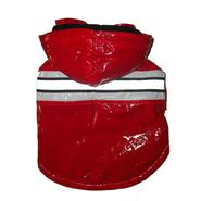 Pet Life Reflecta-Glow Pvc Raincoat With Removable Hood Medium Red at Sears.com
