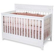 Child Craft Logan Lifetime Convertible Crib Matte White at Sears.com