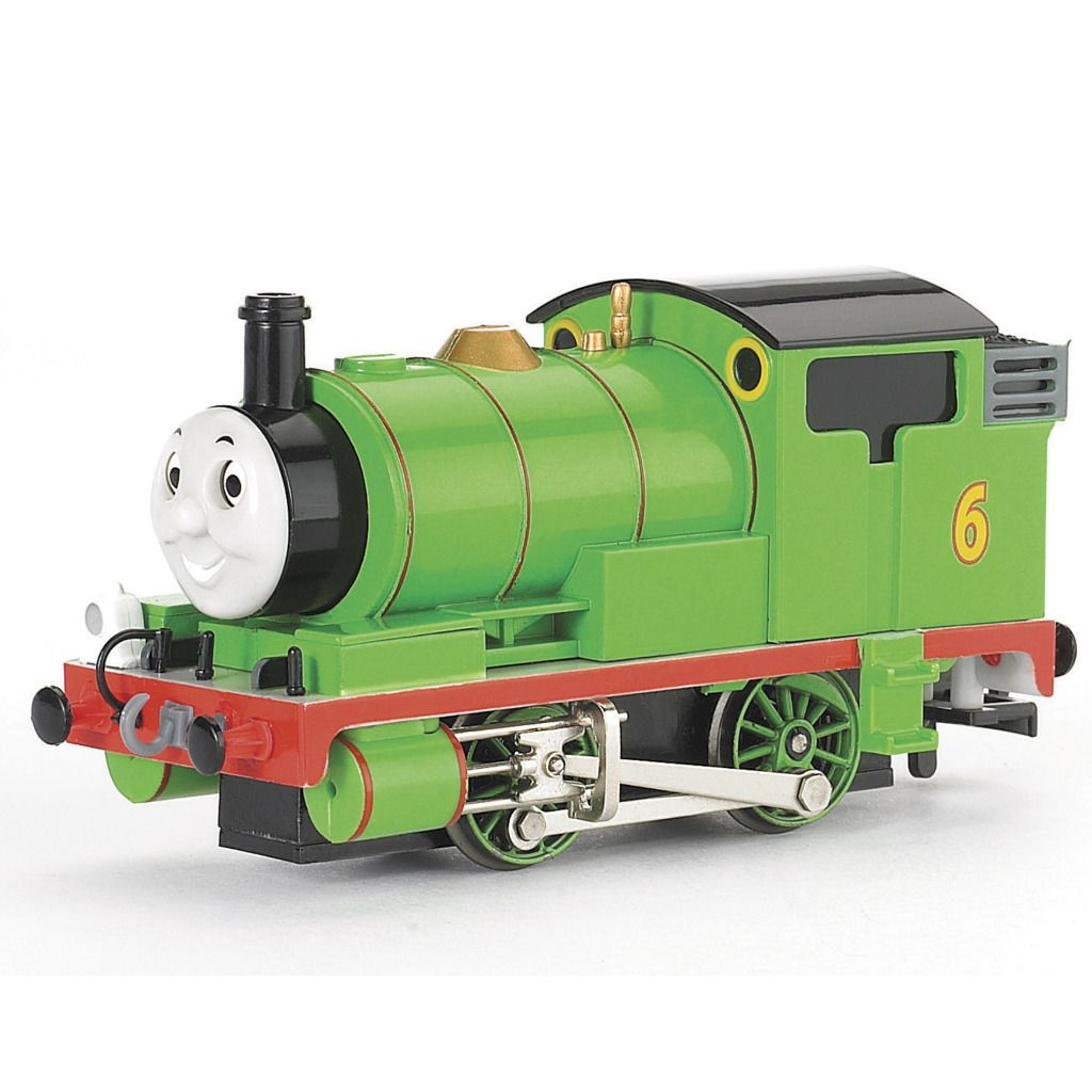 Bachmann Trains Percy The Small Engine With Moving Eyes, HO Scale PartNumber: 05225299000P