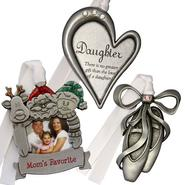Gloria Duchin® 3 Piece Daughter Ornament Gift Set at Kmart.com
