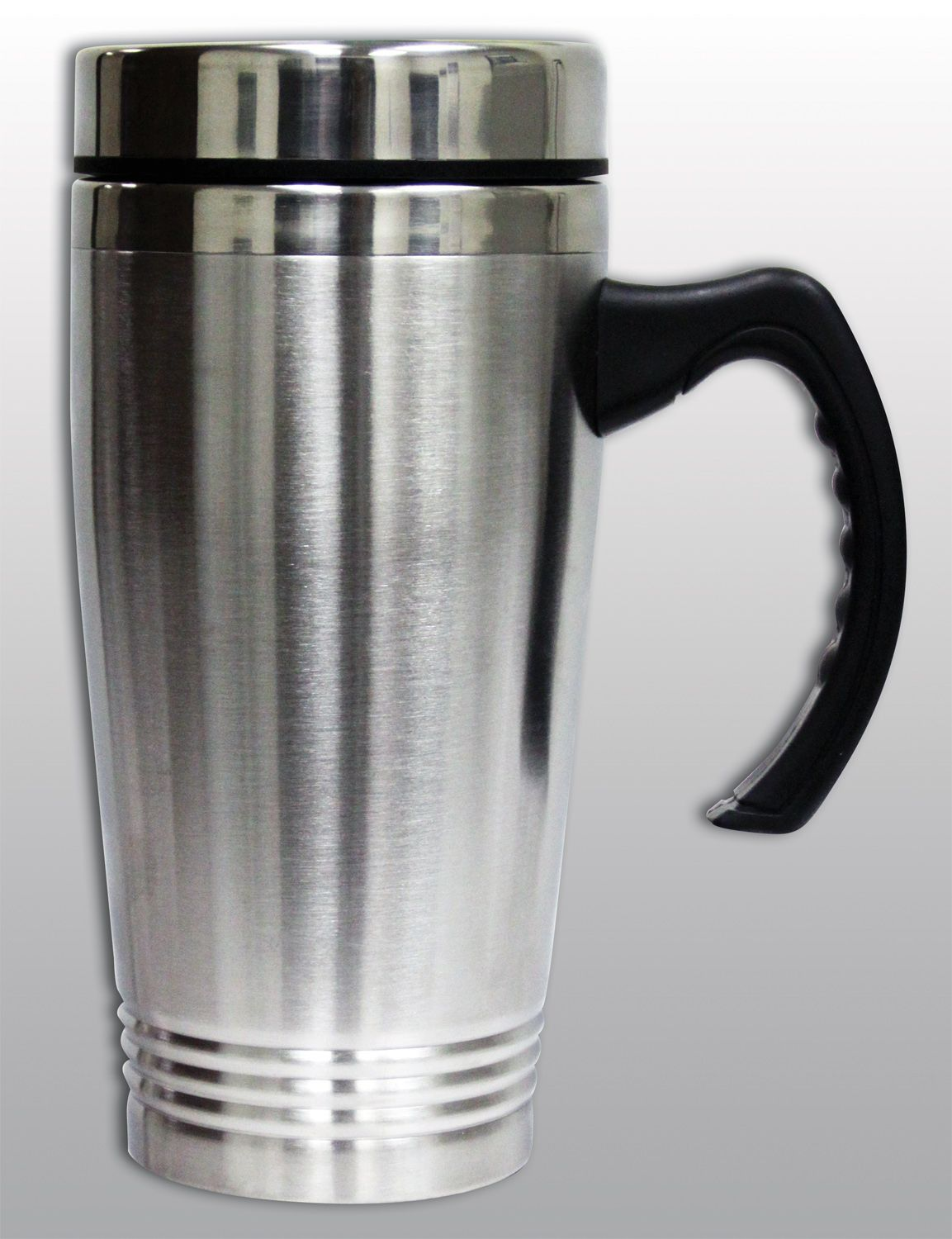 16oz. Stainless Steel Mug with Handle PartNumber: 082W002061225000P KsnValue: 2061225