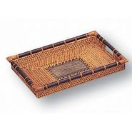 Neu Home Rattan & Terra Cotta Small Tray at Sears.com