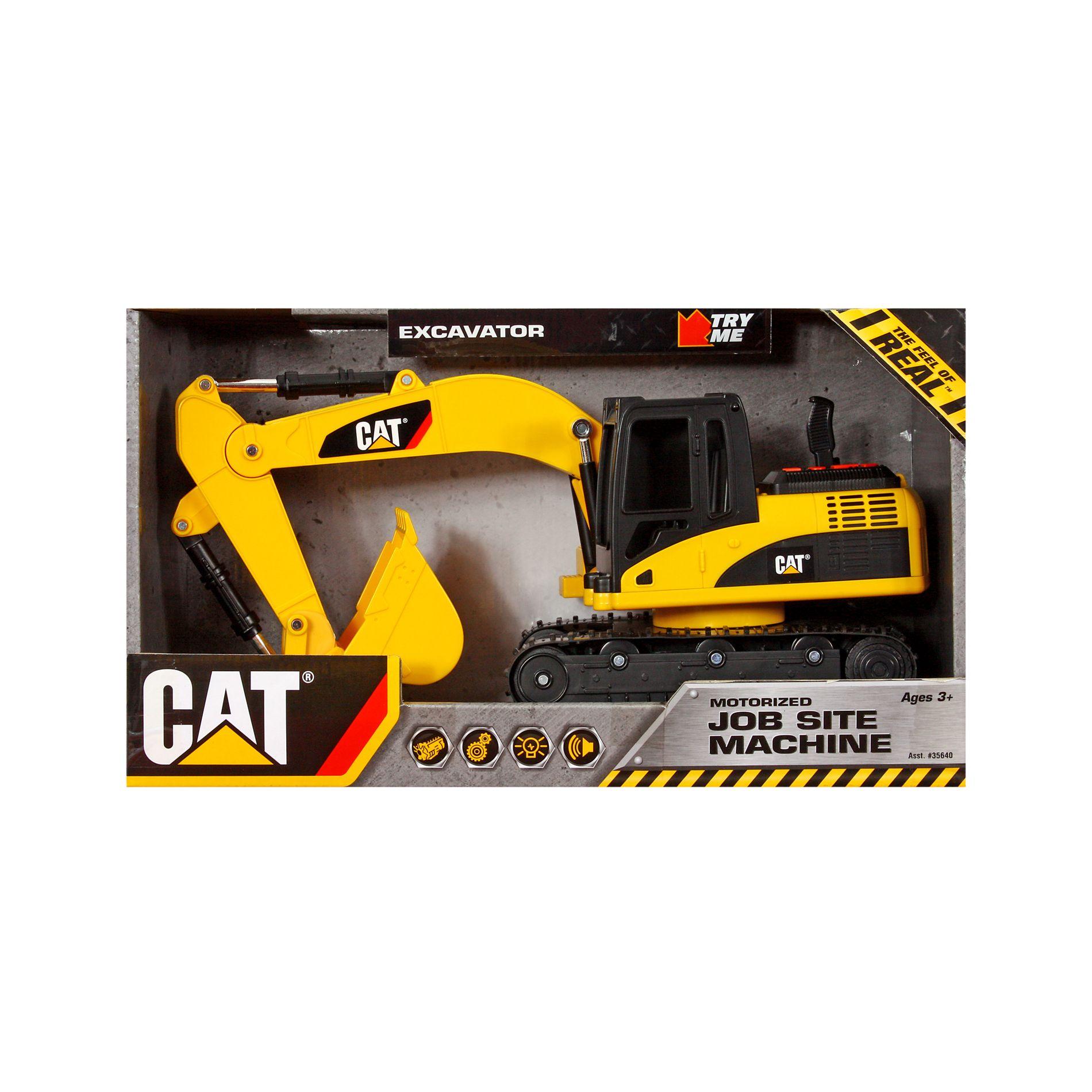 caterpillar site machine excavator