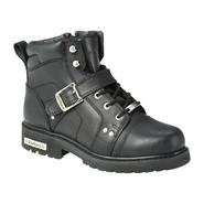 DieHard Mens Killroy Lace Up Biker Boot - Black at Kmart.com