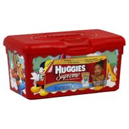 Huggies Supreme Baby Wipes, Aloe & E 64 wipes at Kmart.com