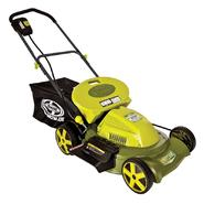 Sun Joe Mow Joe MJ408C 20-Inch 3-in-1 Cordless Lawn Mower with Side Discharge, Rear Bag, and Mulch at Sears.com