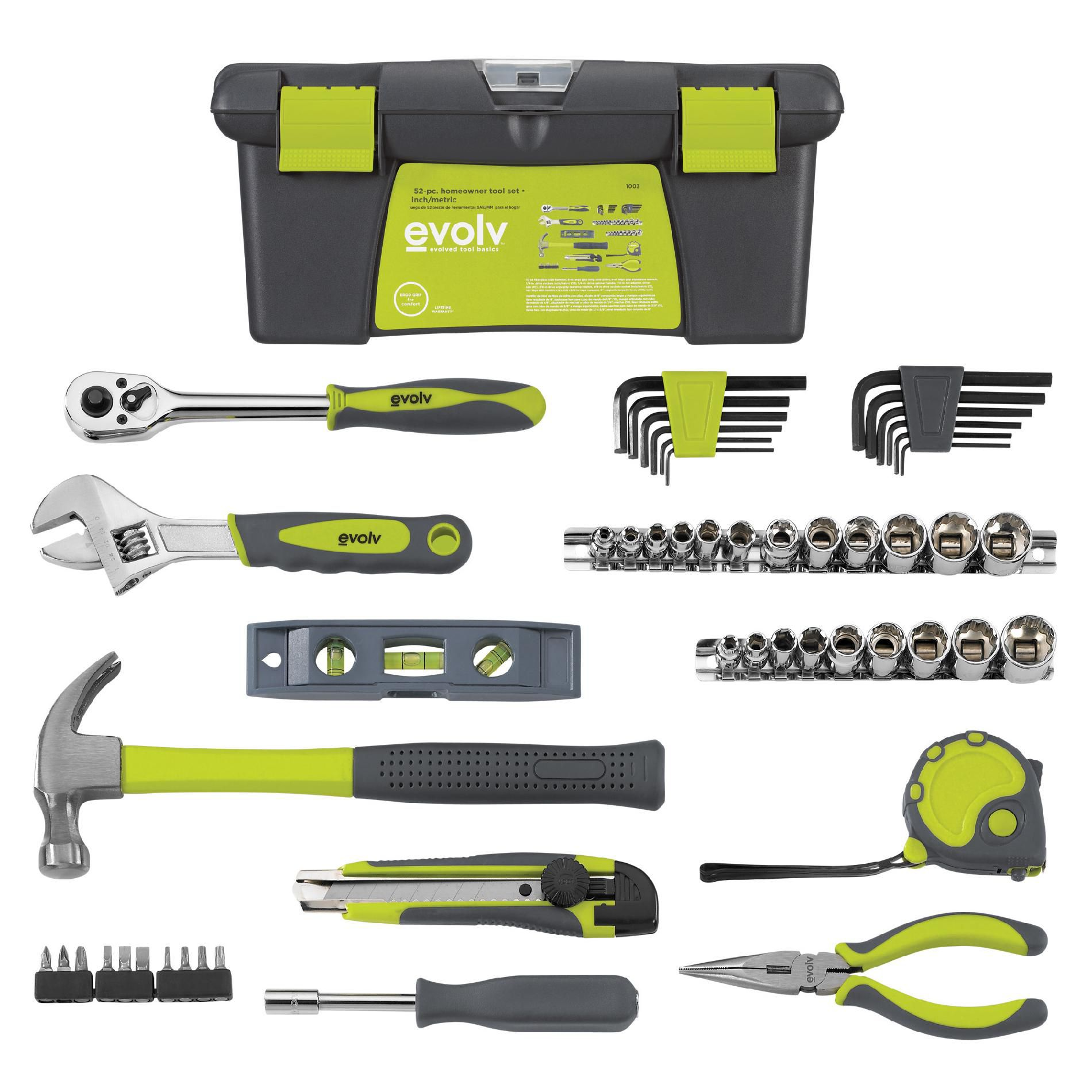 52 pc. Homeowner Tool Set                                                                                                        at mygofer.com