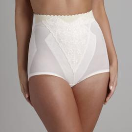 Slim Shape Lace Cuff-Top Shaper Brief at Kmart.com