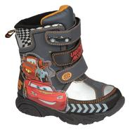 Disney Toddler Boys' Cars Winter Boot - Black at Kmart.com