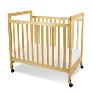 Foundations SafetyCraft Compact, Fixed Side, Clearvier Crib at Kmart.com