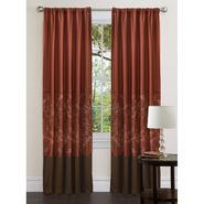 Lush Decor Hester Window Panel 84-inch Red/Wheat/Brown at Kmart.com