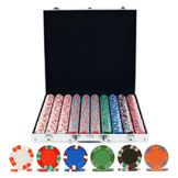 Trademark Poker 1000 NexGen PRO Classic Poker Chips w/ Aluminum Case at mygofer.com
