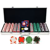 Trademark Poker 500 NexGen PRO Classic Poker Chips w/ Aluminum Case at mygofer.com