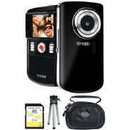 Coby CAM5002 KIT includes SNAPP Mini High Definition Digital Camcorder, 8GB SDHC Card, Mini Tripod and Case at Sears.com