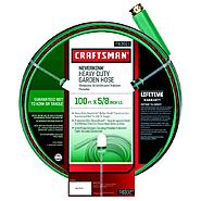 Craftsman Heavy Duty Neverkink® Self-Straightening Hose - 100 ft. at Craftsman.com