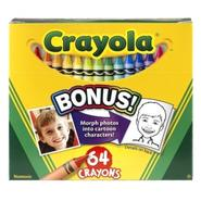 Crayola Crayons with Built In Sharpener 64 ct at Kmart.com