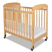 Foundations Serenity, Compact, Fixed Side, Mirror End Crib Natural at Kmart.com