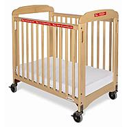Foundations First Responder Evacuation Compact Crib, Fixed Side, Clearview with Evacuation Frame at Kmart.com
