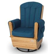 Foundations SafeRocker SS Swivel Glider Rocker Natural & Blue at Kmart.com