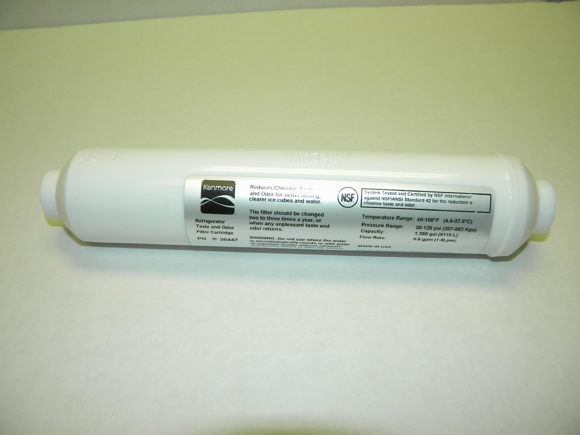 Refrigerator Taste and Odor Replacement Filter                                                                                   at mygofer.com