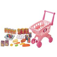 Just Kidz Shopping Cart Playset - Pink at Sears.com