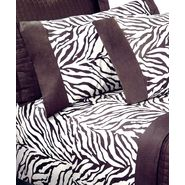 Jenny George Designs Zebra Pattern Printed Sheet Set, King Size at Kmart.com