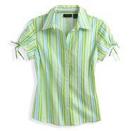 At Last Short Sleeve Pintuck Tie Sleeve Pintuck Shirt at Kmart.com