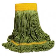 UNISAN Recycled Fiber Looped-End Mop Head, X-Large, Green at Kmart.com