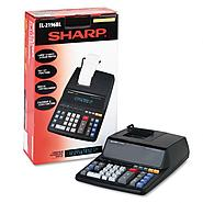 Sharp EL2196BL Two-Color Printing Calculator at Kmart.com