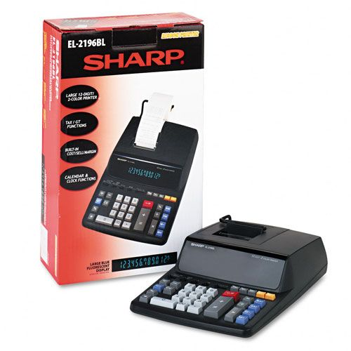 Sharp  EL2196BL Two-Color Printing