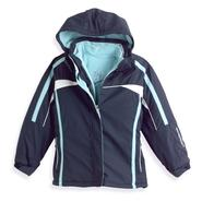 Zero Xposur Girl's 7-16 Fleece-Lined Jacket, 4-in-1 System at Kmart.com
