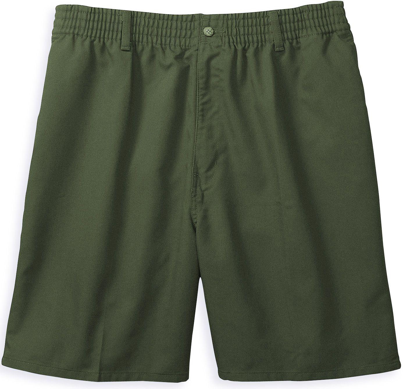 Harbor Bay Men's Elastic Waist Shorts - Big & Tall