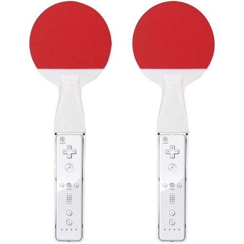 Wii Ping Pong Paddles                                                                                                            at mygofer.com