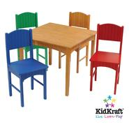 KidKraft Nantucket Honey Table and Primary Chairs at Kmart.com